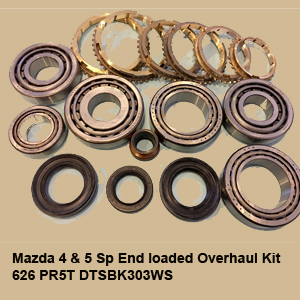 Mazda 4 & 5 Sp End loaded Overhaul Kit 626 PR5T DTSBK303WS